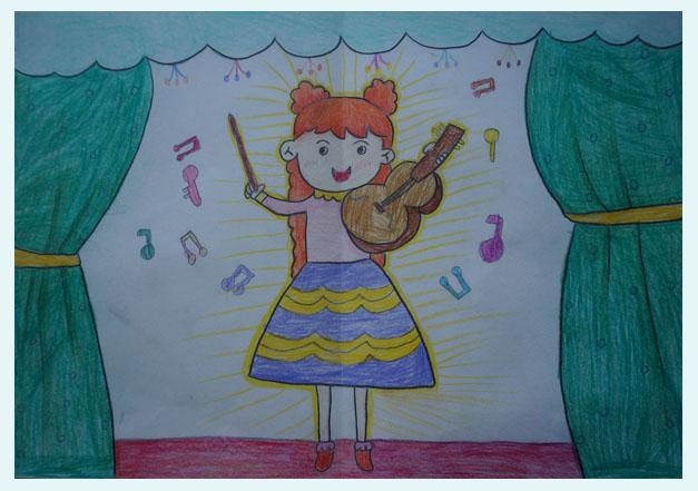丽萨跳舞_第四届中国国际儿童画大赛获奖作品(部分)-展览赛事-中国艺术 ...